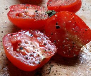 Tomaten aus dem Backofen