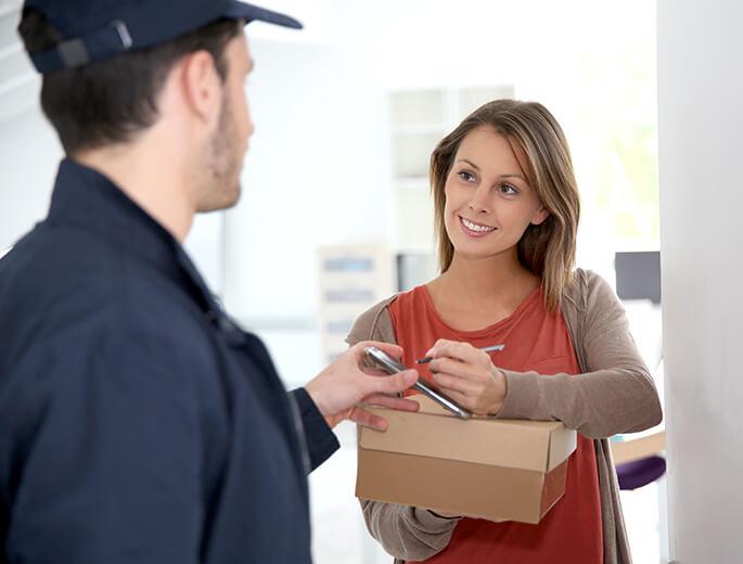 Bestellte Ware zurücksenden