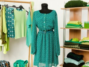 Grüne Kleidung