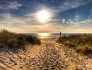 Sonne am Strand