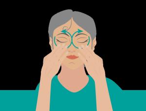 Massage Augen