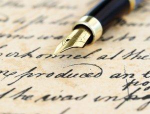 Handschrift Füllfederhalter