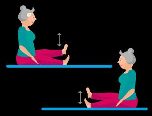 Bauchübung Beinheben