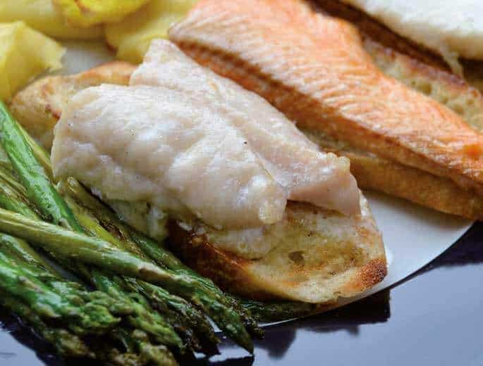 Fischfilets vom Grill