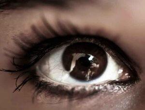 Augenfarbe Schwarz