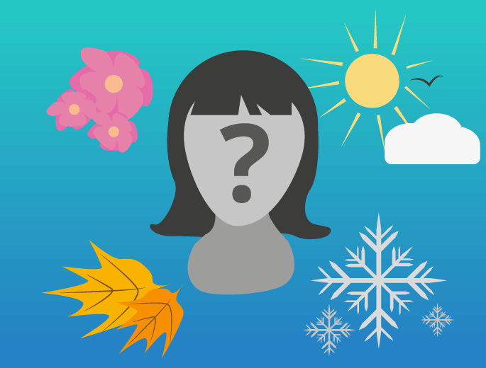 Jahreszeiten Frisur