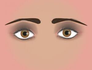 Lidschatten runde Augen