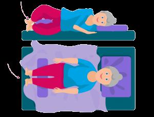 Körperhaltung richtiges Schlafen