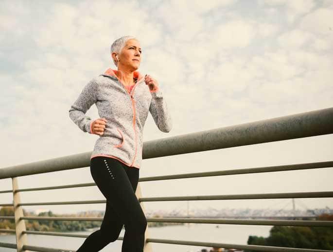 Jogging Laufende Frau