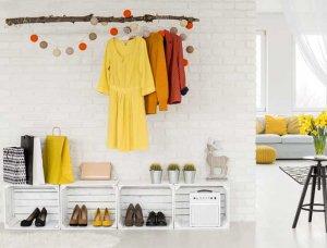 Minimalismus Garderobe
