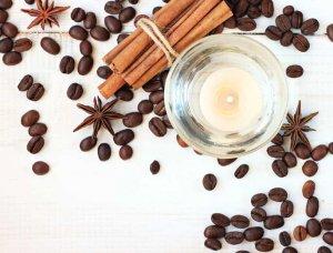 kaffeekerze