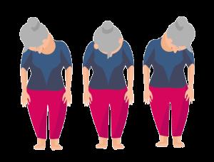 Nackenübungen Nacken pendeln
