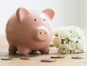 Eheversprechen erneuern Sparschwein