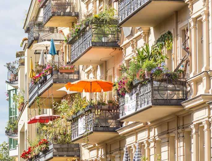 balkon urlaub