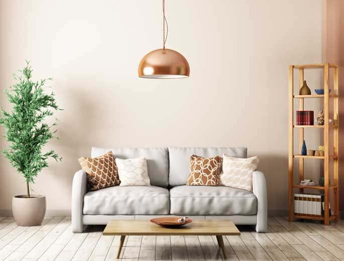 Minimalismus Wohnzimmer