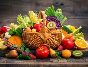 Basenfasten Detox-Kur Obst und Gemüse