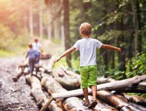 Enkel Aktivitäten Natur erforschen