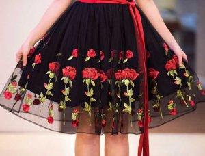 Herbsttrends 2017 Kleid mit Bumenprint