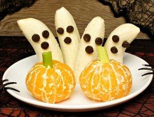 Halloween Snacks gesund