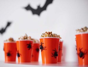 Popcorn Behälter Halloween