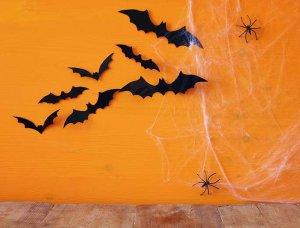 Halloween Wand Deko