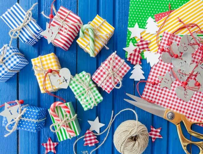schone adventskalender selber basteln geschenke adventskalender