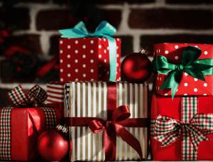 Geschenkverpackungen Gemustertes Geschenkpapier