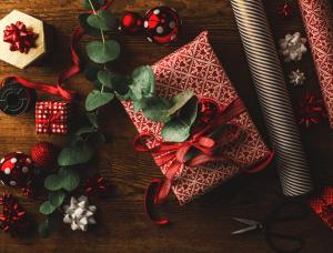 Geschenkverpackungen Rustikales Geschenkpapier