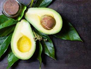 Offene Avocado