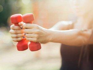 Fitness-Equipment Hanteln