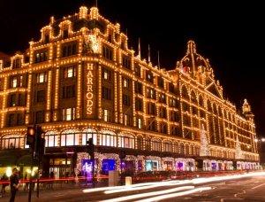 Christmas-Shopping Harrods London
