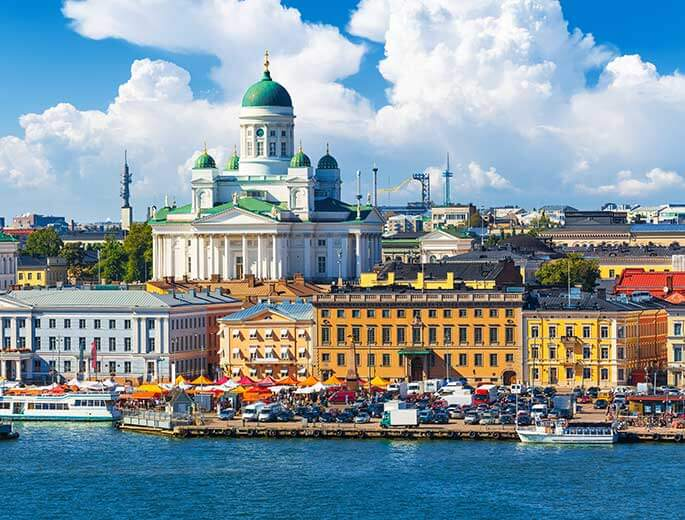 Helsinki Stadtbild