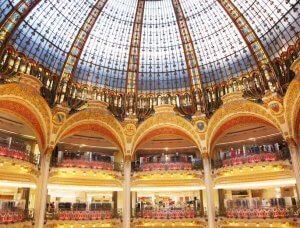 Christmas-Shopping Galeries Lafayette Paris