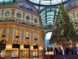 Christmas-Shopping Galleria Vittorio Emanuele Mailand