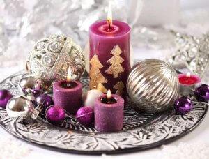 Weihnachtsdeko-Ideen Dekoteller