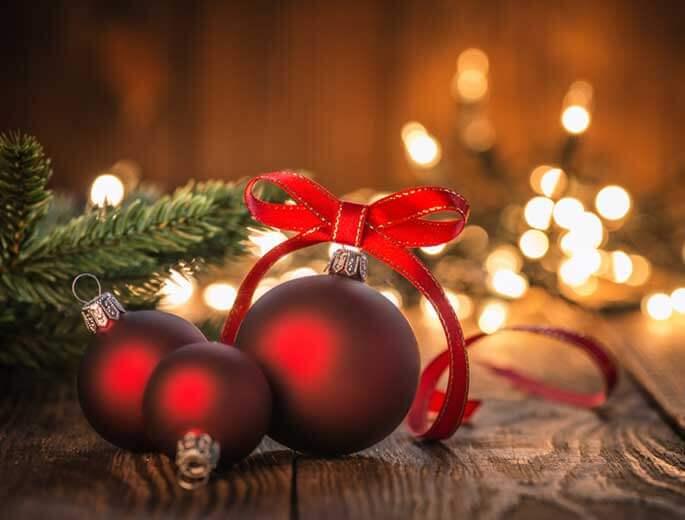 Weihnachtsdeko-Ideen Weihnachtskugeln