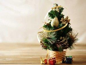 Weihnachtsdeko-Ideen Dekorierter Minibaum