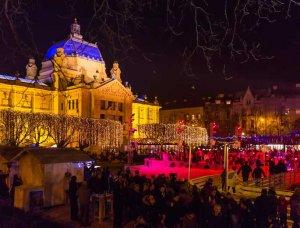 Weihnachtsmärkte Weihnachtsmarkt in Zagreb