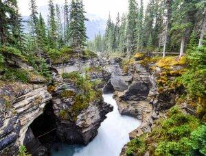 Kanada Athabasca Wasserfälle