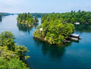 Kanada Thousand Islands Inseln