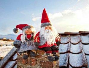 Weihnachten Norwegische Gnome
