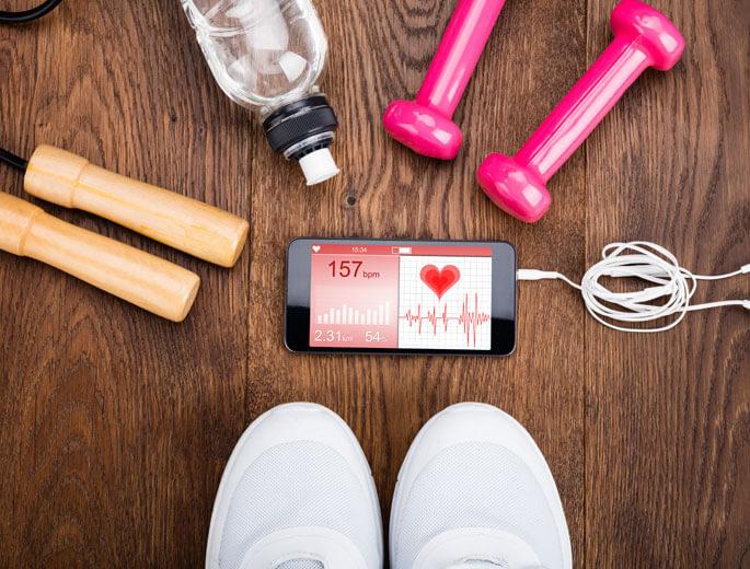 Fitness App Sport Equipment