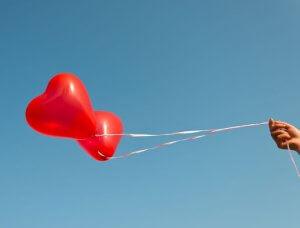 Herz Ballons