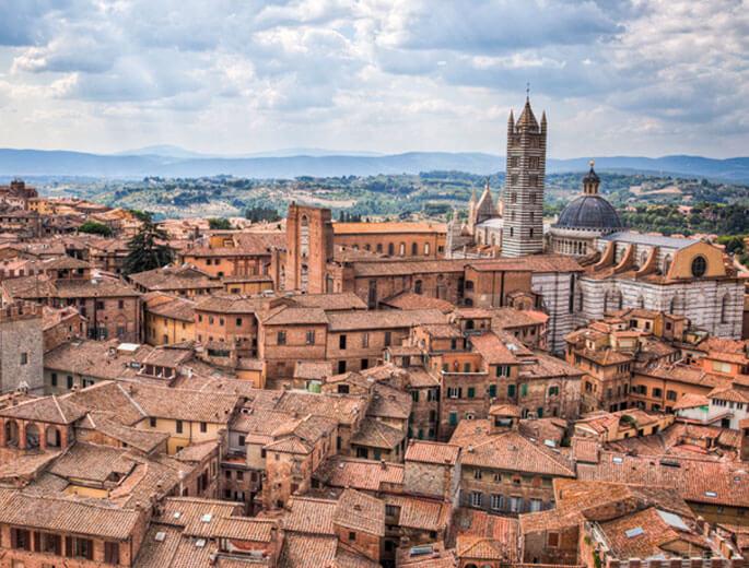 Stadt Siena