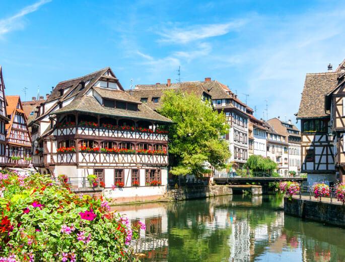 Straßburger Häuser