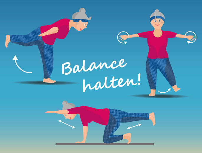 Yoma Balance Übungen