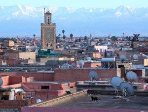 Dächer Marrakeschs