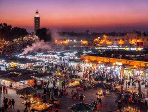 Djemaa el Fna Platz in Marrakesch