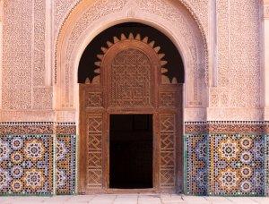 Koranschule Medersa Ben Youssef in Marrakesch