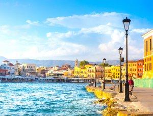 Chania Hafen Kreta